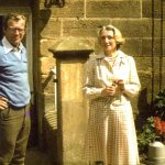 John Woolley and Clare White 1976 (photo Andrew Thomson)