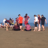Games lesson on the beach thumb