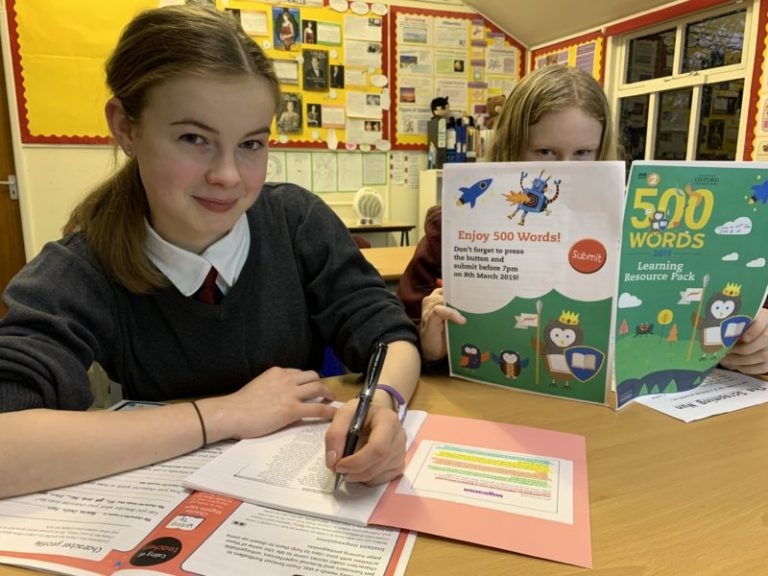 Olivia and Mabel are just two of Fyling Hall's students taking part in the BBC Radio 2's 500 Words competition