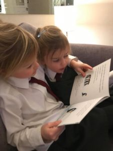 Pupils read to each other