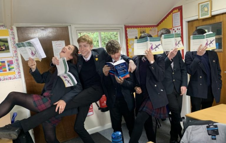Year 10 show us how to kick off World Book Day celebrations