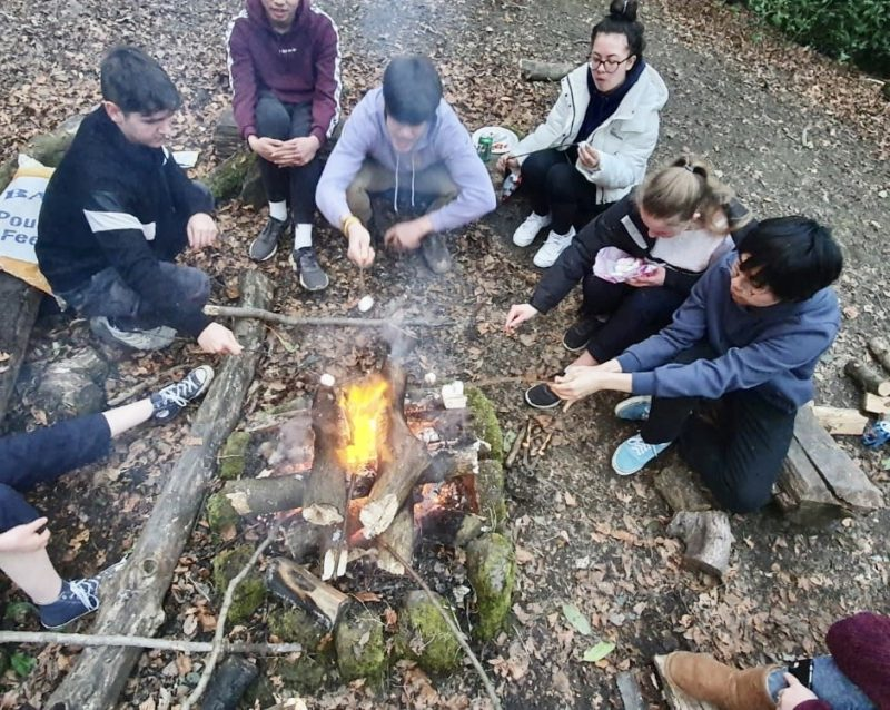 News from our amazing school - Campfire in Forest School