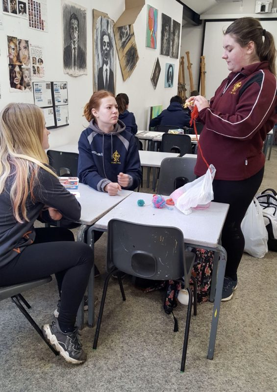Art students rise to the challenge