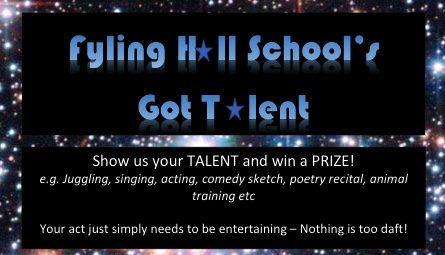 We want to see your talent