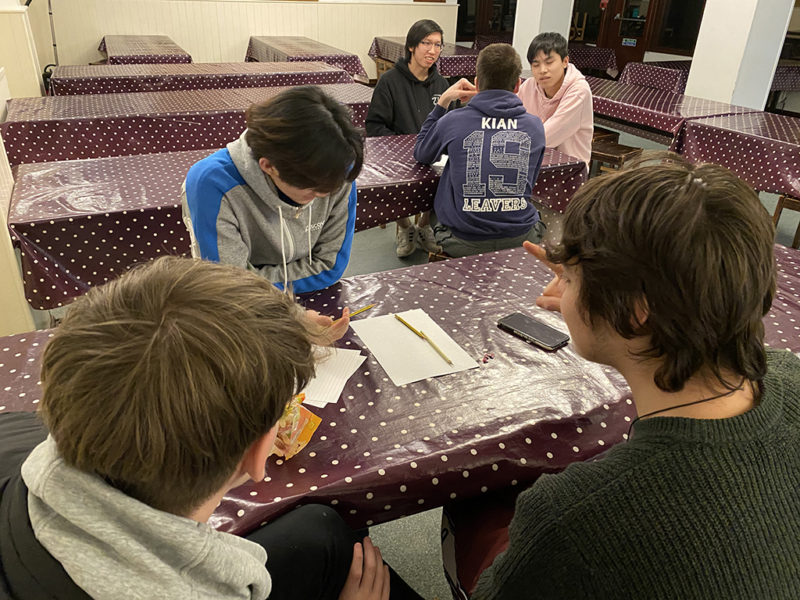 Special weekend gatherings for our boarders