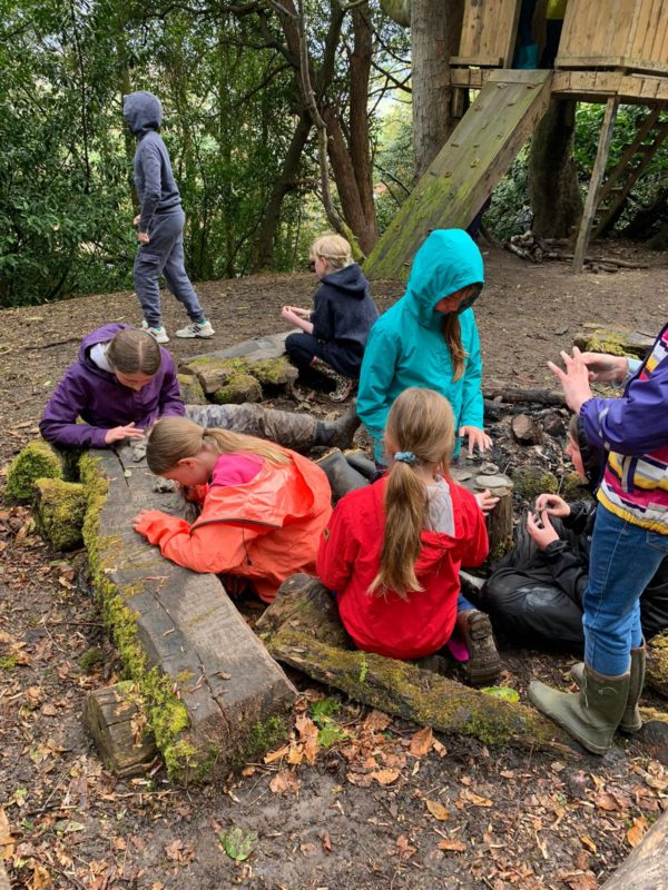 Preparations in forest school