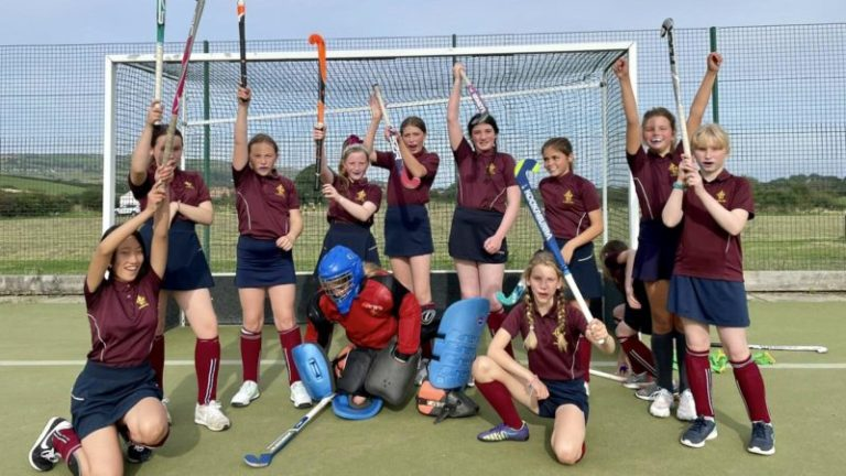 Representing Fyling Hall in a team sports fixture